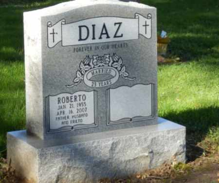 DIAZ, ROBERTO - Sacramento County, California | ROBERTO DIAZ - California Gravestone Photos