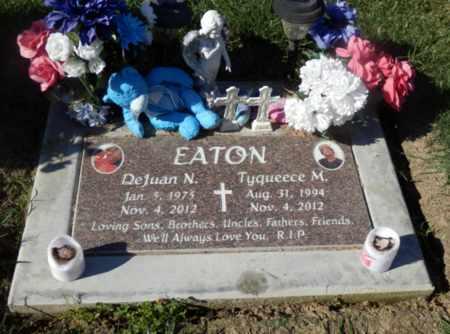 EATON, DEJUAN N - Sacramento County, California   DEJUAN N EATON - California Gravestone Photos