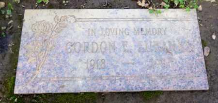 EUBANKS, GORDON - Sacramento County, California   GORDON EUBANKS - California Gravestone Photos