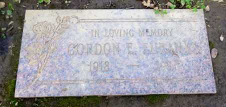 EUBANKS, GORDON - Sacramento County, California | GORDON EUBANKS - California Gravestone Photos