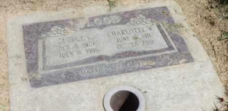 VEGORS FLOOD, CHARLOTTE - Sacramento County, California | CHARLOTTE VEGORS FLOOD - California Gravestone Photos