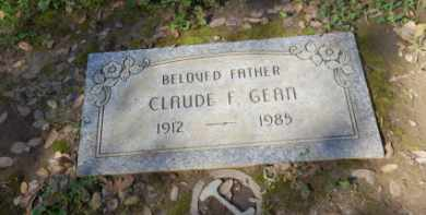GEAN, CLAUDE - Sacramento County, California | CLAUDE GEAN - California Gravestone Photos