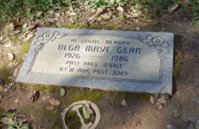 GEAN, OLGA - Sacramento County, California   OLGA GEAN - California Gravestone Photos