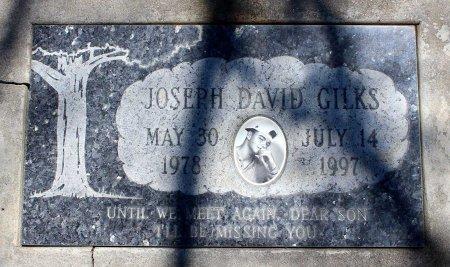 GILKS, JOSEPH DAVID - Sacramento County, California | JOSEPH DAVID GILKS - California Gravestone Photos