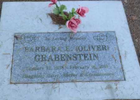OLIVER GRABENSTEIN, BARBARA E - Sacramento County, California | BARBARA E OLIVER GRABENSTEIN - California Gravestone Photos