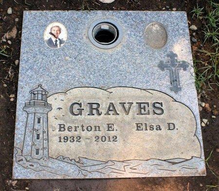 GRAVES, BERTON E. - Sacramento County, California | BERTON E. GRAVES - California Gravestone Photos