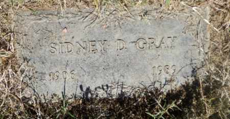 GRAY, SIDNEY - Sacramento County, California | SIDNEY GRAY - California Gravestone Photos