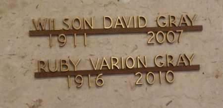 GRAY, WILSON - Sacramento County, California | WILSON GRAY - California Gravestone Photos