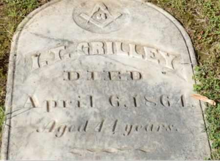 GRILLEY, I. T. - Sacramento County, California   I. T. GRILLEY - California Gravestone Photos