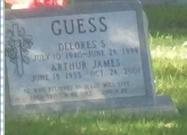 GUESS, ARTHUR - Sacramento County, California   ARTHUR GUESS - California Gravestone Photos