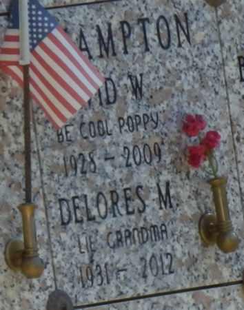 HAMPTON, DELORES - Sacramento County, California   DELORES HAMPTON - California Gravestone Photos