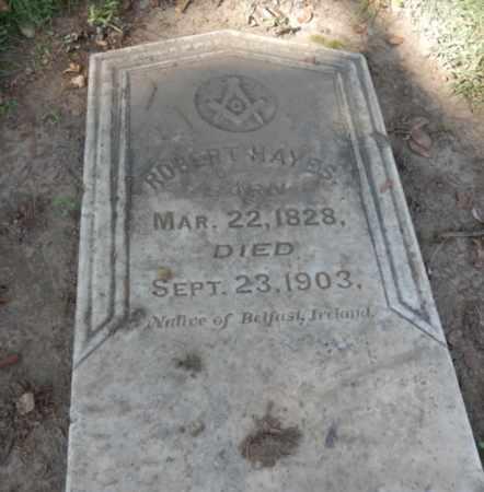 HAYES, ROBERT - Sacramento County, California   ROBERT HAYES - California Gravestone Photos