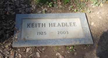 HEADLEE, KEITH - Sacramento County, California | KEITH HEADLEE - California Gravestone Photos