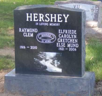 HERSHEY, RAYMOND - Sacramento County, California | RAYMOND HERSHEY - California Gravestone Photos
