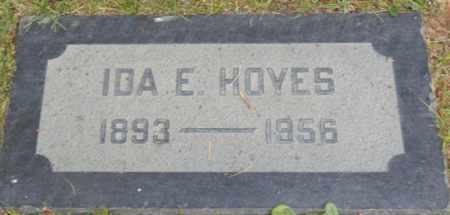 HOYES, IDA - Sacramento County, California | IDA HOYES - California Gravestone Photos