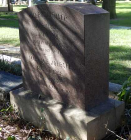 JOERGER, MARTHA - Sacramento County, California   MARTHA JOERGER - California Gravestone Photos