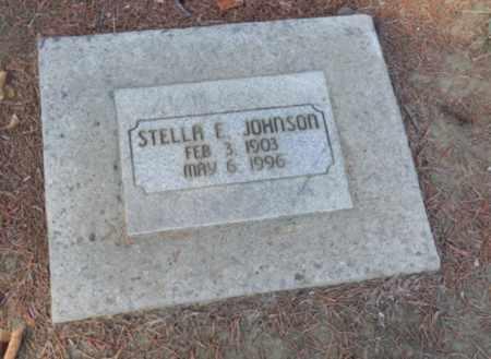 JOHNSON, STELLA E - Sacramento County, California   STELLA E JOHNSON - California Gravestone Photos