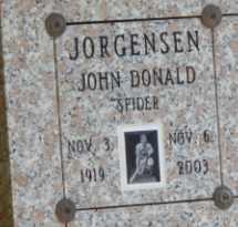 JORGENSEN, JOHN - Sacramento County, California   JOHN JORGENSEN - California Gravestone Photos