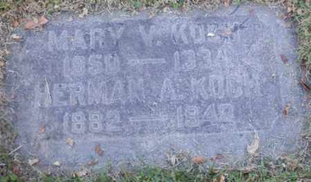 KOCH, HERMAN - Sacramento County, California | HERMAN KOCH - California Gravestone Photos