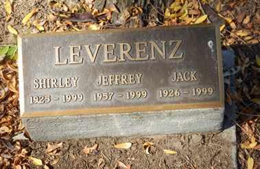 LEVERENZ, JACK - Sacramento County, California | JACK LEVERENZ - California Gravestone Photos