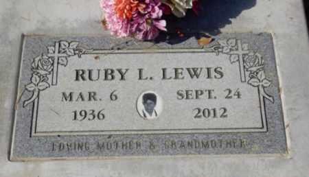 LEWIS, RUBY L. - Sacramento County, California   RUBY L. LEWIS - California Gravestone Photos