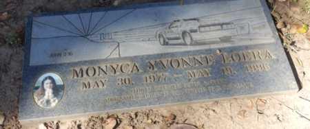LOERA, MONYCA - Sacramento County, California   MONYCA LOERA - California Gravestone Photos