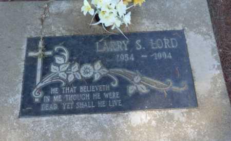 LORD, LARRY S. - Sacramento County, California | LARRY S. LORD - California Gravestone Photos