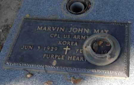 MAY, MARVIN - Sacramento County, California   MARVIN MAY - California Gravestone Photos