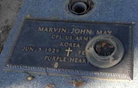 MAY, MARVIN - Sacramento County, California | MARVIN MAY - California Gravestone Photos