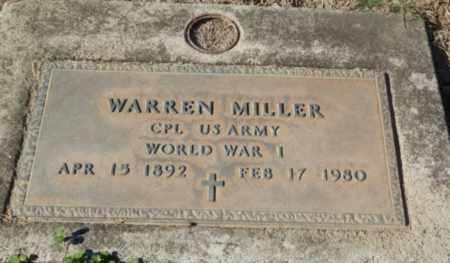 MILLER, WARREN - Sacramento County, California | WARREN MILLER - California Gravestone Photos