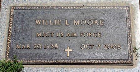 MOORE, WILLIE L. - Sacramento County, California   WILLIE L. MOORE - California Gravestone Photos