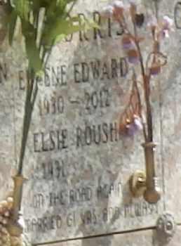 ROUSH MORRIS, ELSIE - Sacramento County, California | ELSIE ROUSH MORRIS - California Gravestone Photos
