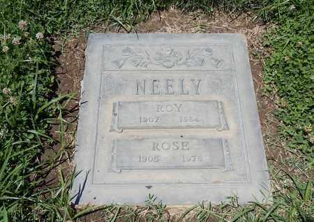 NEELY, ROY - Sacramento County, California   ROY NEELY - California Gravestone Photos