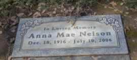 NELSON, ANNA - Sacramento County, California   ANNA NELSON - California Gravestone Photos