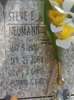 NEUMANN, STEVE - Sacramento County, California | STEVE NEUMANN - California Gravestone Photos