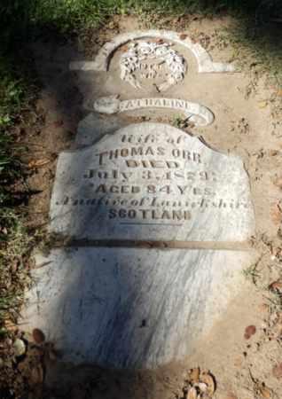 ORR, CATHARINE - Sacramento County, California   CATHARINE ORR - California Gravestone Photos