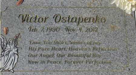 OSTAPENKO, VICTOR - Sacramento County, California   VICTOR OSTAPENKO - California Gravestone Photos