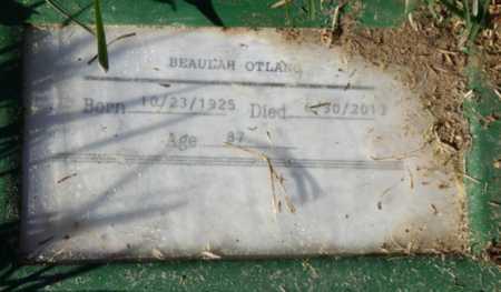OTLANG, BEAULAH - Sacramento County, California | BEAULAH OTLANG - California Gravestone Photos