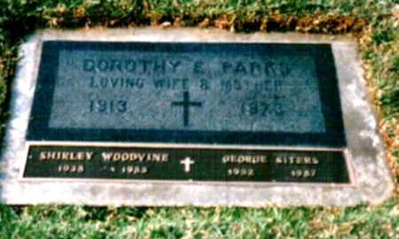 BOWERS PARKS, DOROTHY - Sacramento County, California | DOROTHY BOWERS PARKS - California Gravestone Photos