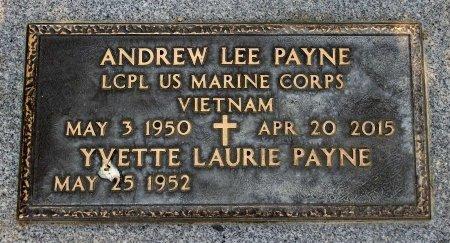 PAYNE, ANDREW LEE - Sacramento County, California   ANDREW LEE PAYNE - California Gravestone Photos