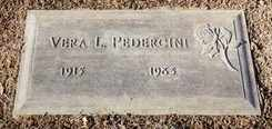 PEDERDCINI, VERA - Sacramento County, California | VERA PEDERDCINI - California Gravestone Photos