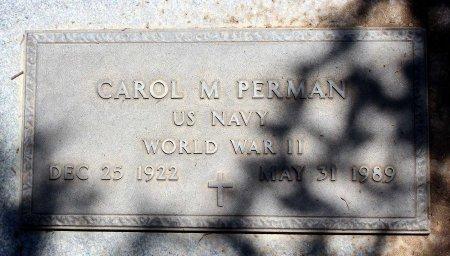 PERMAN, CAROL M. - Sacramento County, California | CAROL M. PERMAN - California Gravestone Photos