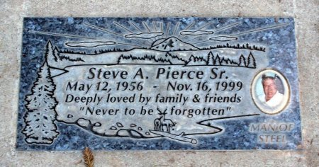 PIERCE, STEVE A. SR. - Sacramento County, California | STEVE A. SR. PIERCE - California Gravestone Photos