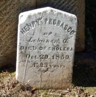 PROBASCO, HENRY - Sacramento County, California | HENRY PROBASCO - California Gravestone Photos