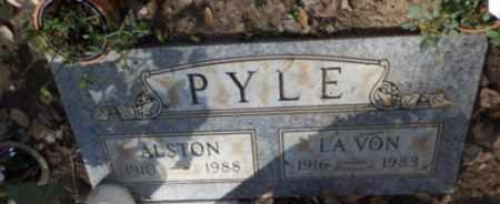 PYLE, ALSTON - Sacramento County, California   ALSTON PYLE - California Gravestone Photos
