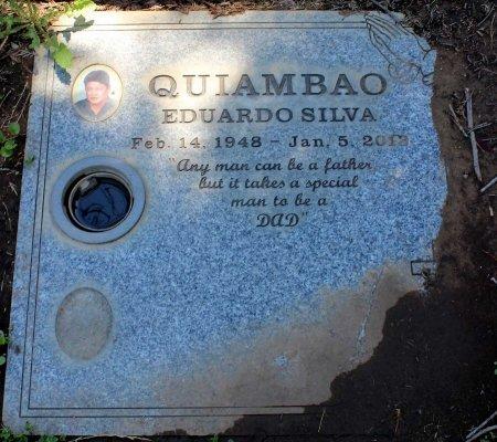 QUIAMBAO, EDUARDO SILVA - Sacramento County, California | EDUARDO SILVA QUIAMBAO - California Gravestone Photos