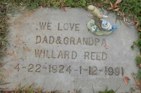 REED, WILLARD - Sacramento County, California   WILLARD REED - California Gravestone Photos