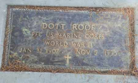ROOF, DOTT - Sacramento County, California | DOTT ROOF - California Gravestone Photos