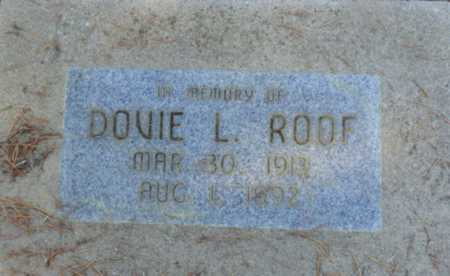 ROOF, DOVIE L - Sacramento County, California   DOVIE L ROOF - California Gravestone Photos