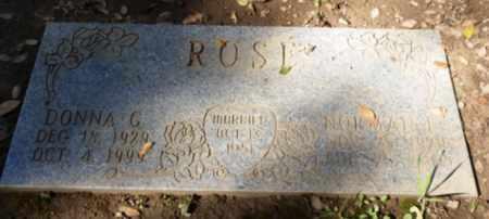 ROSE, DONNA - Sacramento County, California   DONNA ROSE - California Gravestone Photos